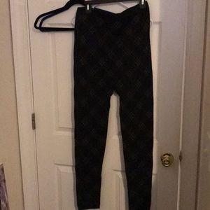 The Avenue Fleece lined leggings